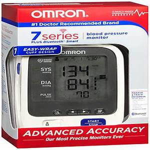 Omron 7 Series Bluetooth Wireless Upper Arm Blood Pressure