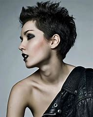 Black Pixie Hair Cut
