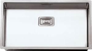Evier Inox Grande Cuve : evier grande cuve inox 1 bac sous plan ou a fleur de plan ~ Premium-room.com Idées de Décoration