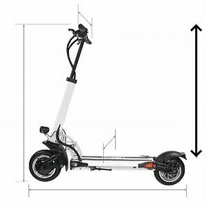 Average Electric Scooter Handlebar Height  Calculated From