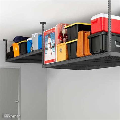 garage ceiling storage 51 brilliant ways to organize your garage the family
