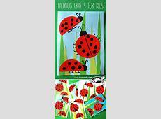 krokotak Ladybug Crafts for Kids