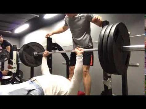 Hero Athletes  140kg X 2 Pause Bench Press Youtube