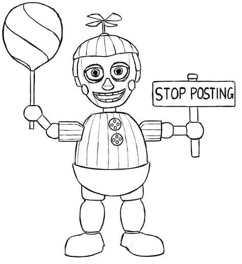 Coloring Fnaf by Fnaf Coloring Pages Free Printable Coloring Pages