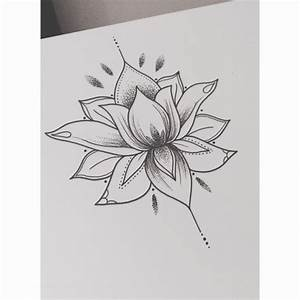 lotus flower drawing | Tumblr