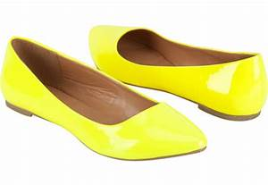 Yellow neon flats under $20 from Tilly s