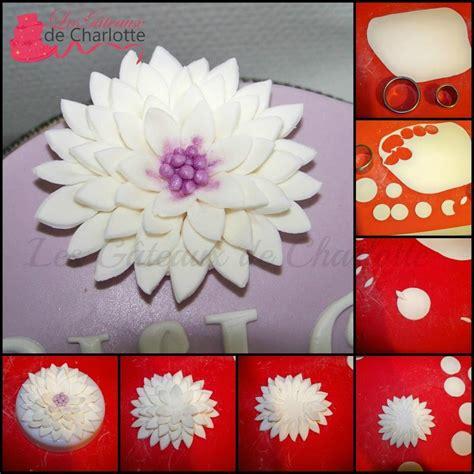 tutoriel fleur en p 226 te 224 sucre paperblog