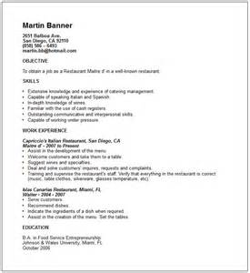 tourism student resume objectives travel and tourism industry resume exles