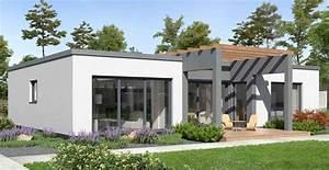 Ytong Haus Preise : bungalow modern mit flachdach von ytong bausatzhaus ~ Lizthompson.info Haus und Dekorationen