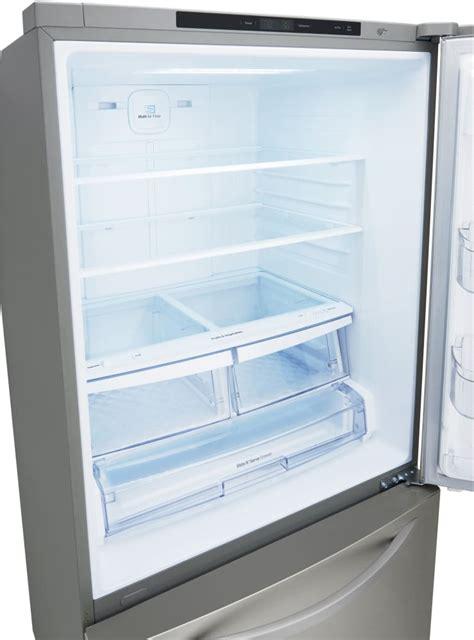bottom drawer freezer lg ldcs22220s 30 inch bottom freezer refrigerator with