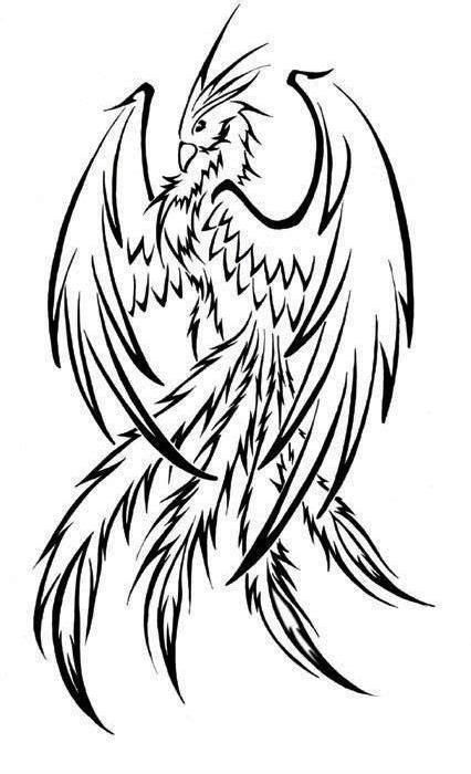 phoenix outline - Google Search | Phoenix tat 1 | Tattoos, Phoenix tattoo design, Phoenix drawing