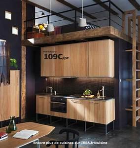 Cuisine Ikea Blanche Et Bois : ikea cuisine en bois cuisine en image ~ Dailycaller-alerts.com Idées de Décoration
