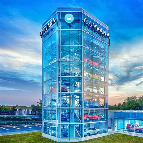 Carvana To Open 'car Vending Machine' In Gaithersburg