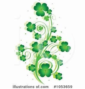 St Patricks Day Clipart #1053659 - Illustration by Pushkin