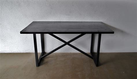 metal legs for wood table second charm collections combining metal and wood for