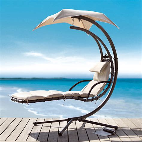 chaise longue suspendue de jardin chair chaise lounge chair