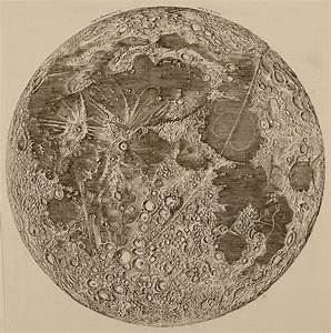Cassini's map of the Moon (1679-1692) | Digital Museum of ...