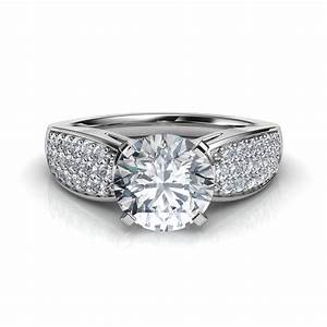 wedding rings wide band diamond wedding rings wide With wide band wedding rings for women