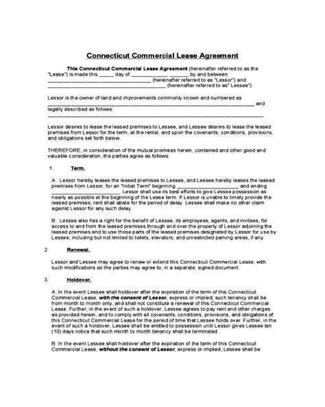 general rent lease agreement form fillable
