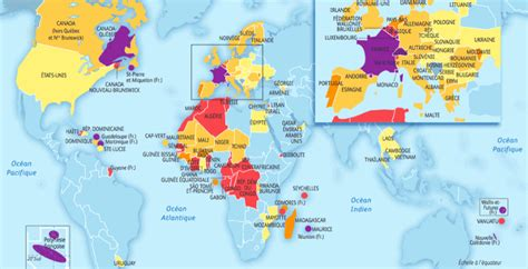 French Speaking Countries In The World  Francophone Countries
