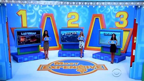 The Price Is Right  Most Expensive  312012 Youtube