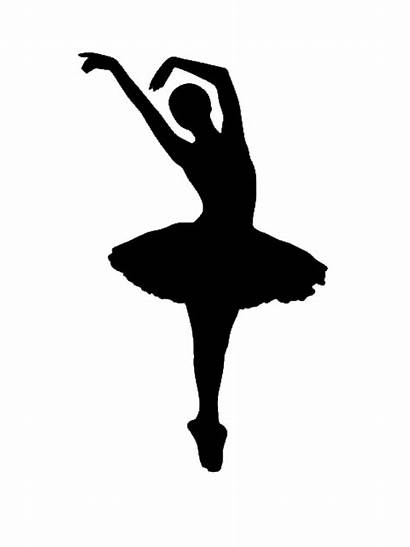 Silhouette Ballet Dancer Transparent Ballerina Dance Shoe