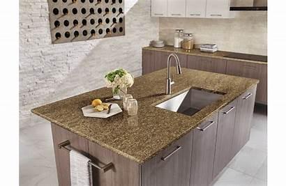 Almond Granite Cabinet Counter Brazil