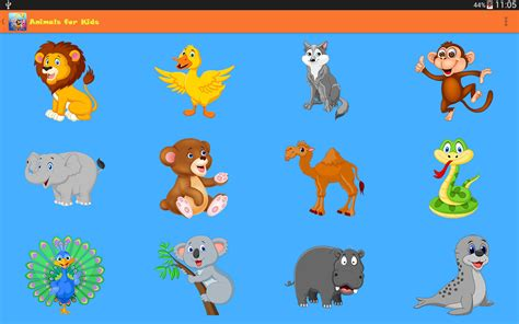 Animals For Kids Amazonca Appstore For Android