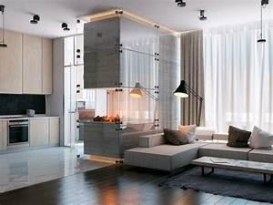 Geräteschuppen Modernes Design : chemin e moderne design pour une ambiance luxueuse ~ Markanthonyermac.com Haus und Dekorationen