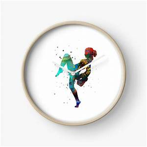 Muay Thai Fighter Designs Muay Clocks Redbubble