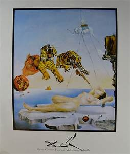Salvador Dali -- Dream Caused by the Flight of a Bee ...