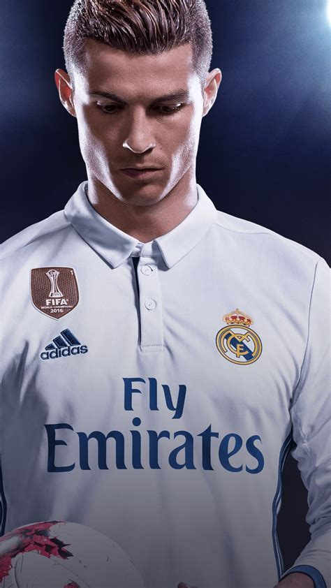 Fifa18 Ronaldo Wallpapers For Laptop by Cristiano Ronaldo Fifa 18 Poster Hd 4k Wallpaper