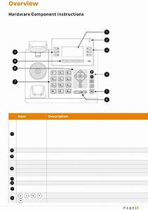 Yealink T42g Telephone Operation  U0026 User U2019s Manual Pdf View
