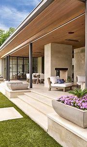 Modern stone pot floral arrangements for the lanai | House ...