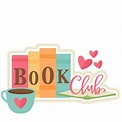 Book Club Title SVG scrapbook cut file cute clipart files ...