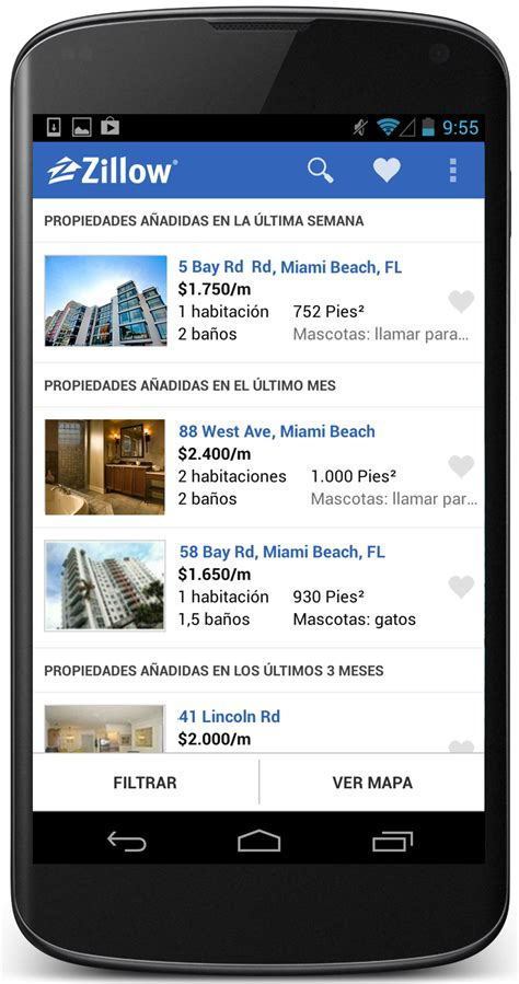 zillow app for android zillow rentals app now available in zillow
