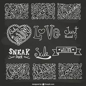 lettering and ornaments pack vector free download With lettering on ornaments