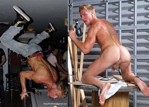 Killer Body Porn Star Gavin Waters Showing His Signature Move