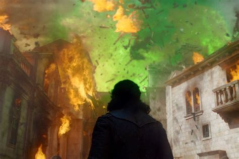 game  thrones episode  green fire  kings landing