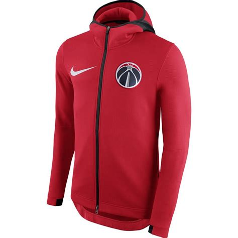 hoodie zip nike therma wizards showtime flex washington heights