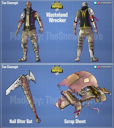 fan  concept skins  fortnite