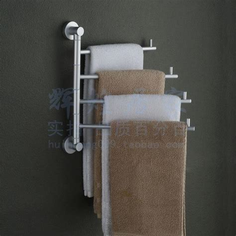 bathroom towel racks folding movable bath towel bar wall mounted shelf bathroom accessories
