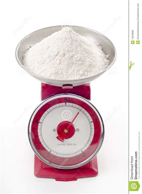 flour  scales royalty  stock image image