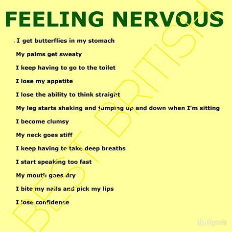 Nervous Feeling