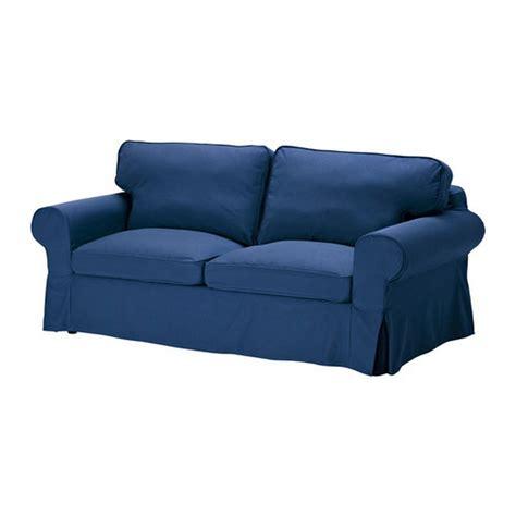 ikea ektorp 2 seat sofa cover loveseat slipcover idemo blue