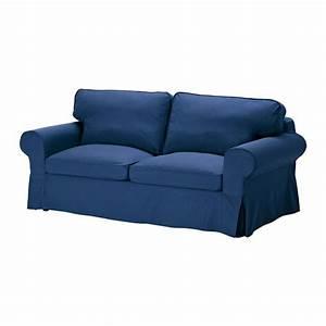 ikea ektorp 2 seat sofa cover loveseat slipcover idemo blue With ikea sofa cover