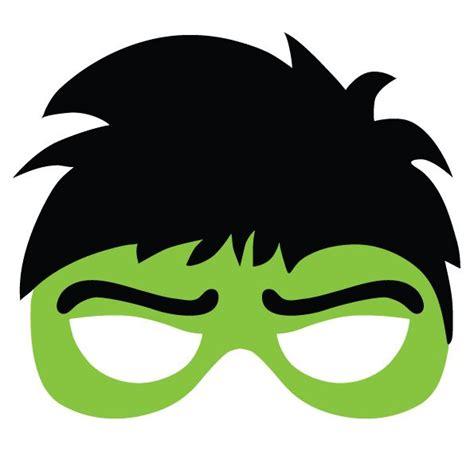 recortable de hulk  fiesta de superheroes fiestas