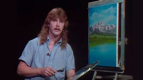 Steven Ross, Son Of Bob Ross, Would Occasionally Take Over