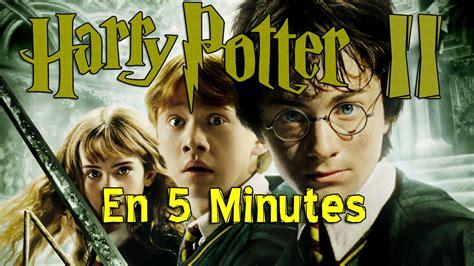 harry potter et la chambre des secrets complet vf harry potter et la chambre des secrets en 5 min