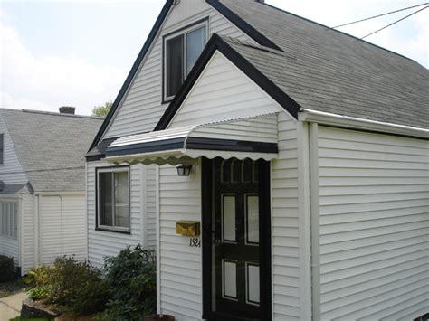 metal aluminum awnings patios homes decks